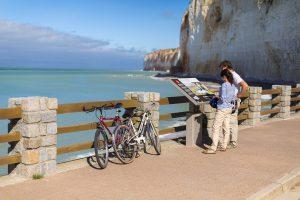 promenade vélo côte d'Albâtre