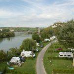 camping en bord de seine