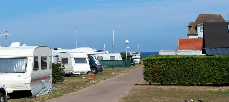 Emplacement camping car bord de mer