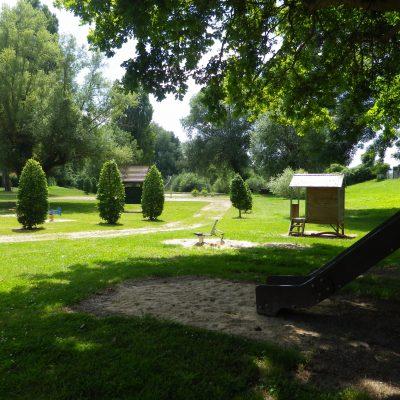 camping vert nature