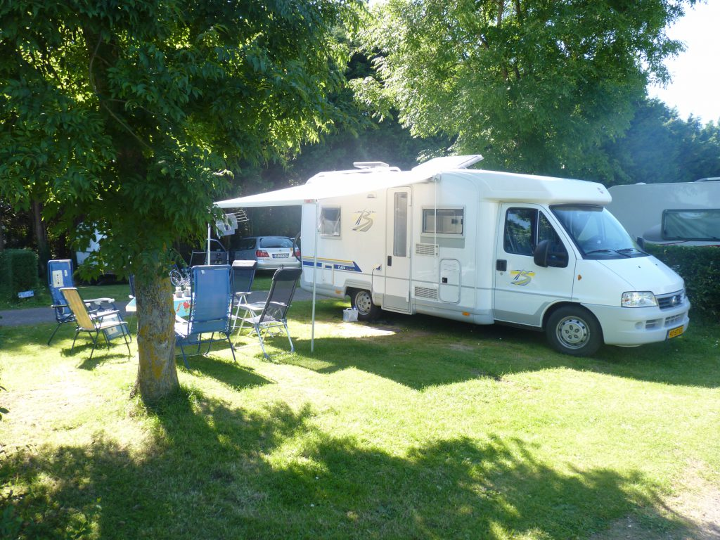 Camping-car, emplacement familial