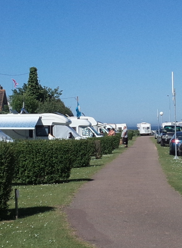 emplacement camping car plage