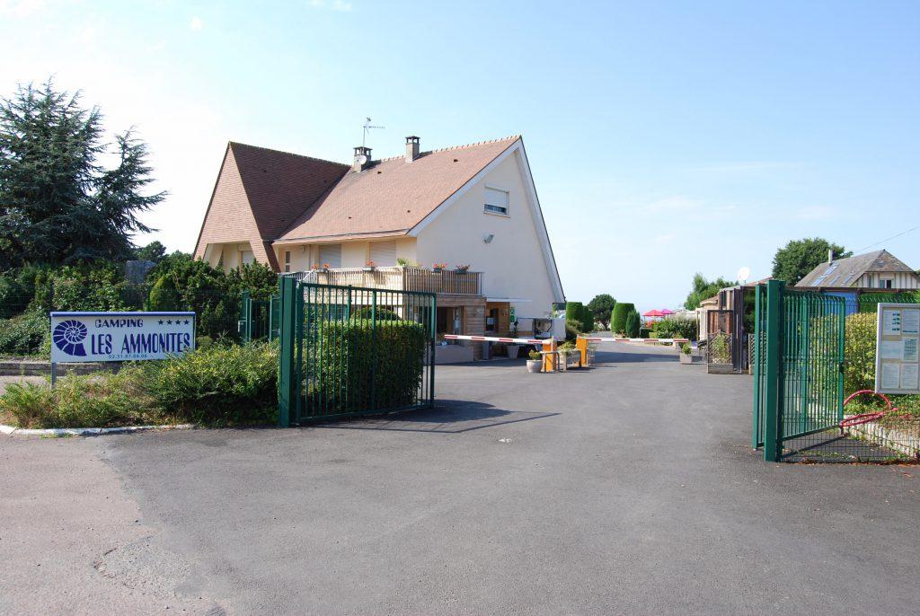 Réception accueil camping normandie