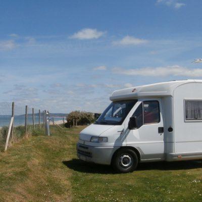 Camping-car vue mer