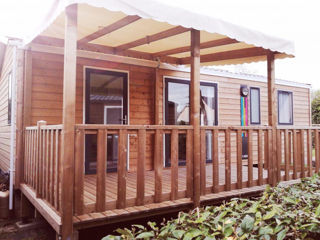 bungalow moderne en bois