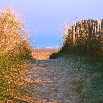 Dunes sables Normandie