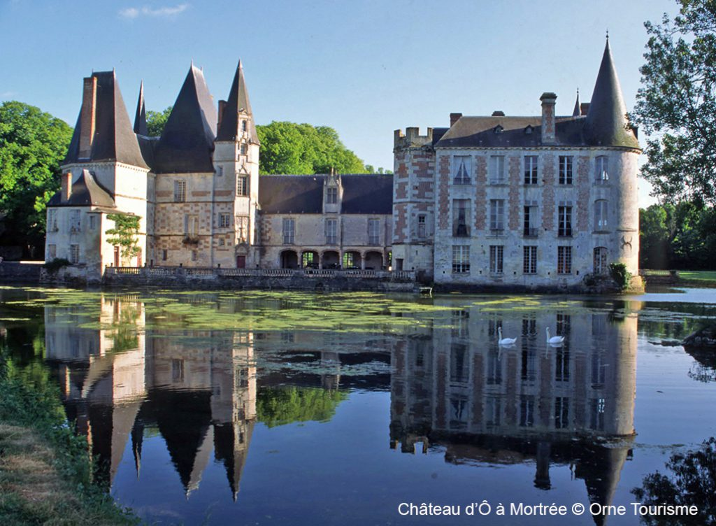 chateau mortree normandie