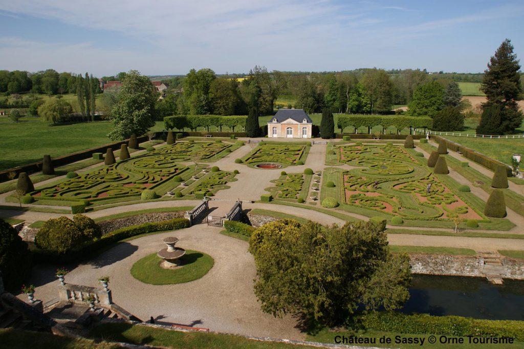 chateau orne tourisme