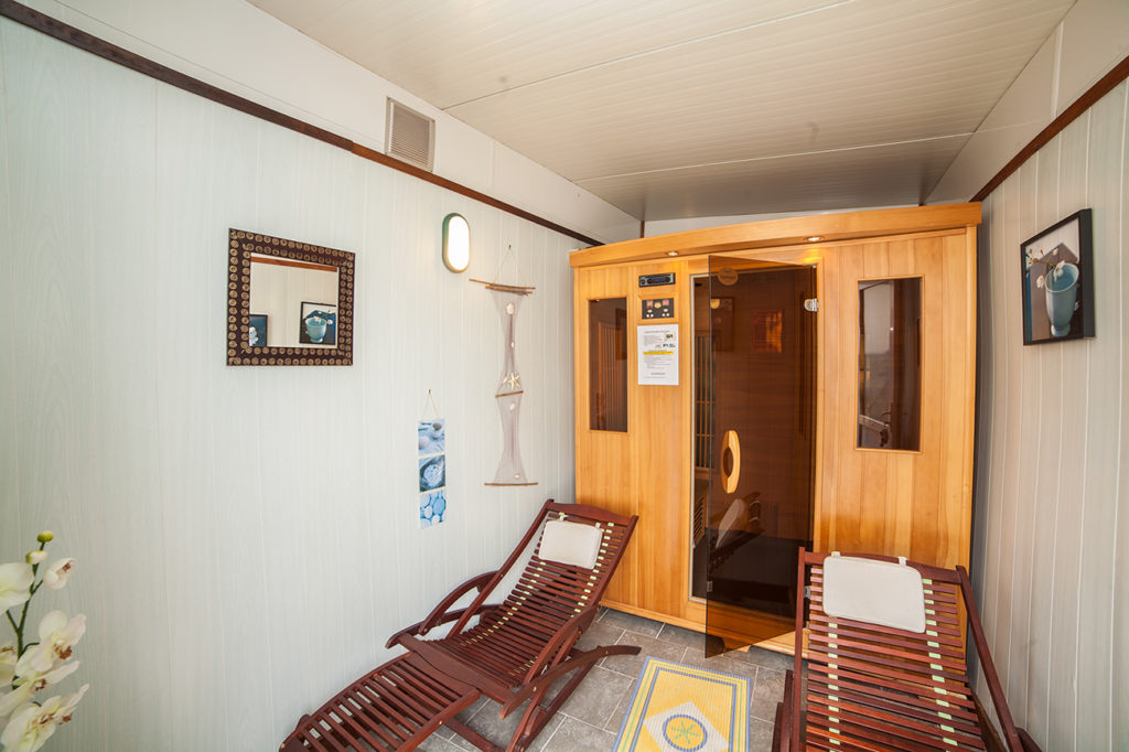 espace bien être sauna