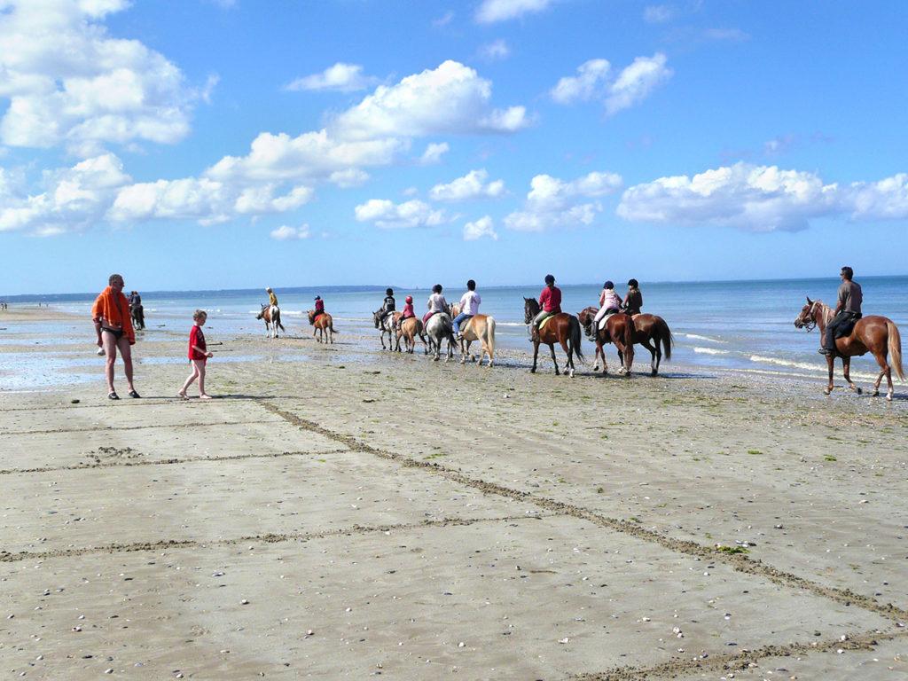 club equitation plage