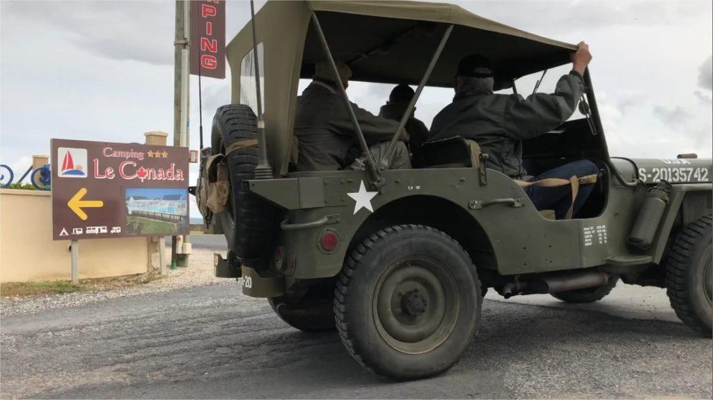 jeep débarquement libération normandie