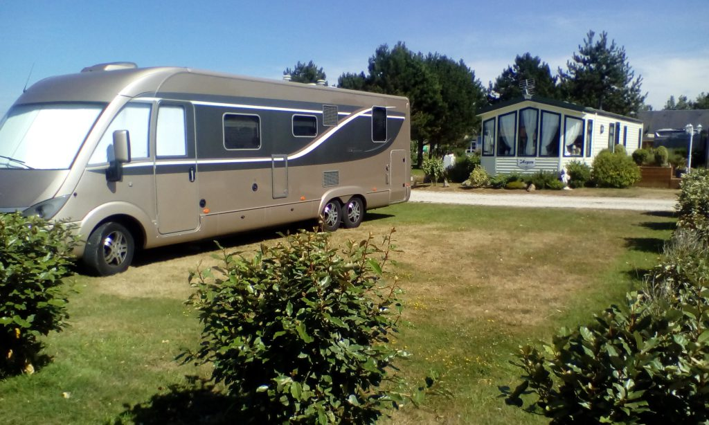 emplacement grand camping car