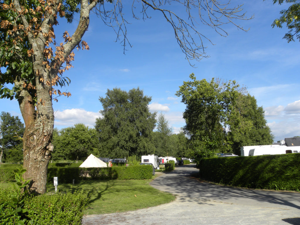 roulottes et emplacement camping