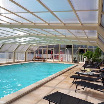 piscine couverte découvrable
