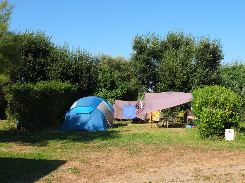 emplacement tente petit camping