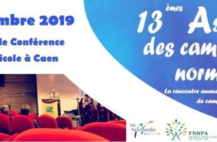 Inscription aux Assises des campings Normands 2019: rendez vous le 19 décembre à Caen, Calvados.