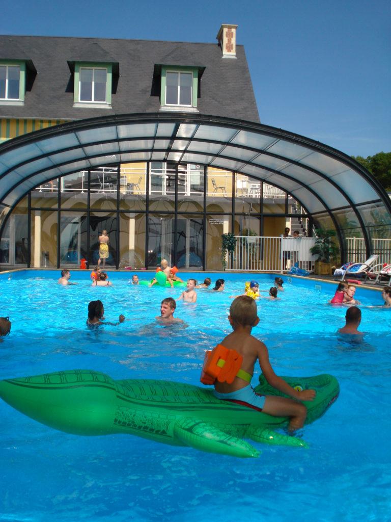 piscine camping normandie