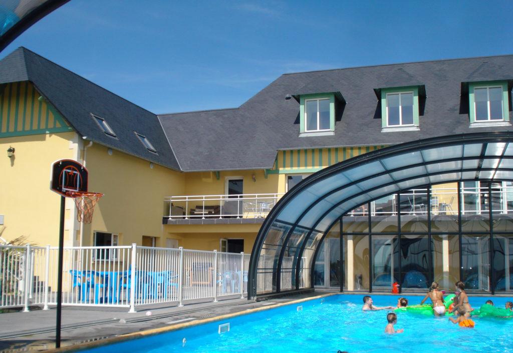 piscine extérieure ouvrable
