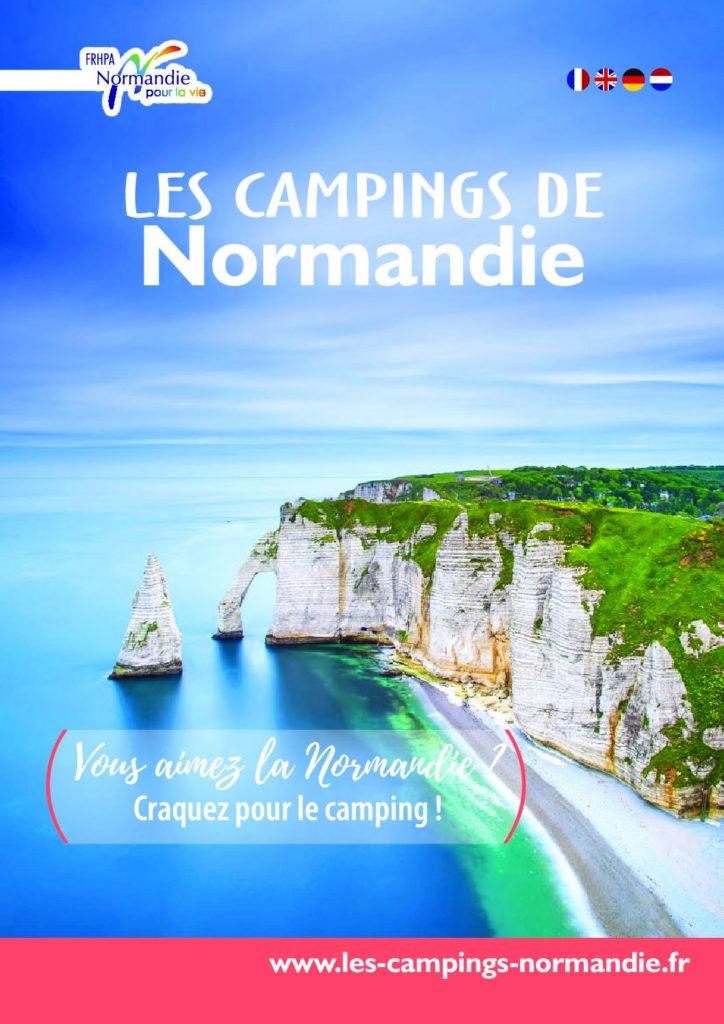 Brochure les campings de Normandie
