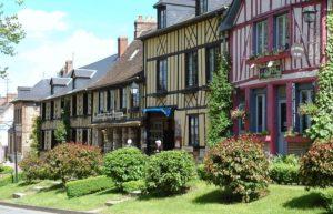 Maison à colombage en Normandie