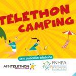 affiche téléthon camping