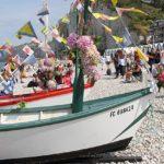bateau peche décoré