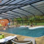 piscine couverte camping catinière